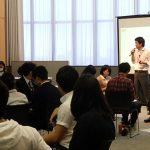 トビタテ!留学JAPAN高校生コースの事後研修を担当しました。